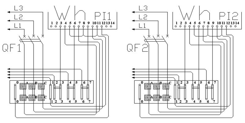 Схема ШУ-2/т трансформаторного