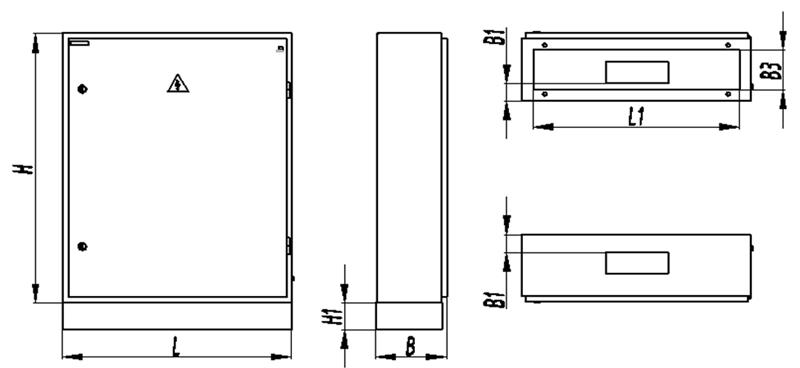 Рис.6.1.7 Схема разметки